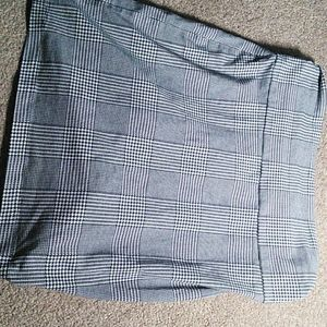 Geometric Spandex Skirt